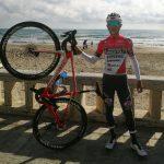 Santiago Umba se prepara para afrontar el Tour de Los Alpes:
